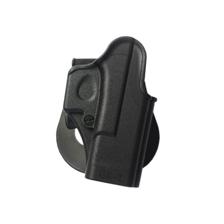 One Piece Polymer Paddle Holster for Glock (right hand) – GK1