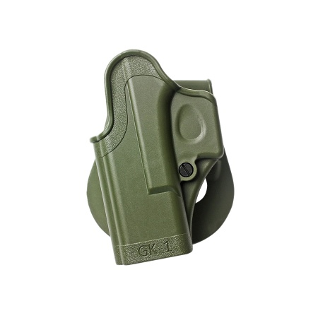 One Piece Polymer Paddle Holster for Glock (left hand) – GK1