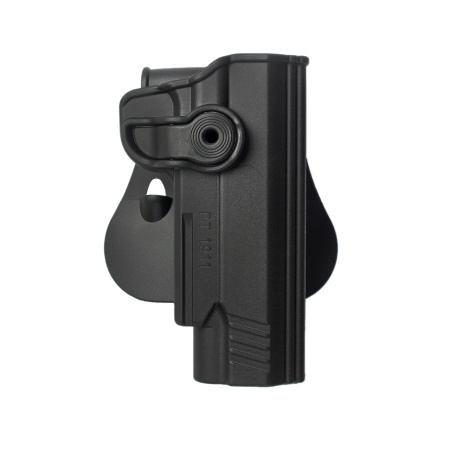 Polymer Retention Paddle Holster for PT1911 & PT1911 with rail