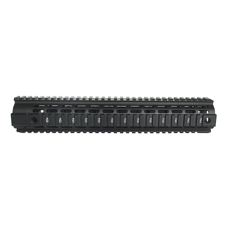 Aluminium Quad Rail Rifle length Freefloat