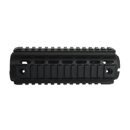 Aluminum quad rail carbine drop in