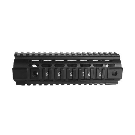 Aluminum Quad Rail Carbine Freefloat
