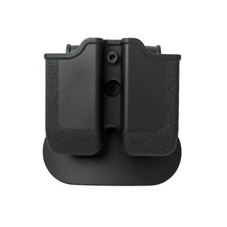 Double Magazine Pouch .45 ACP fits: Sig Sauer P250 .45 ACP |Sig Sauer P227 |Taurus .45 ACP 24/7 OSS | H&K USP .45 | H&K 45C | 1911 .45 double stack variants| BUL M-5