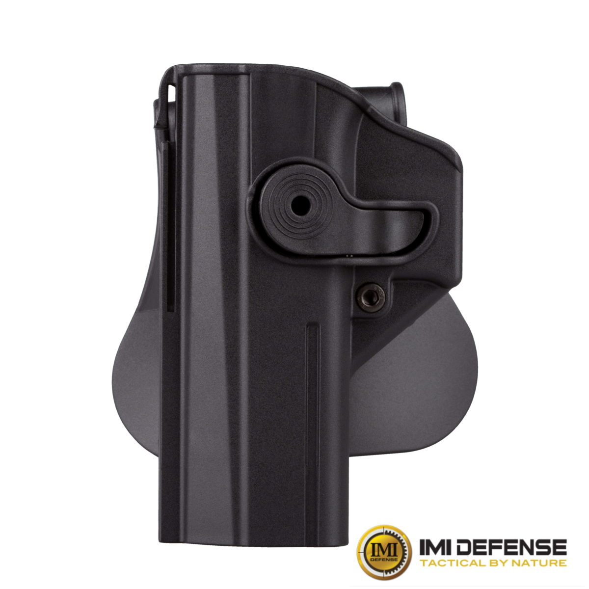 Left Handed Polymer Retention Paddle Holster Level 2 for CZ P-09, Shadow 2